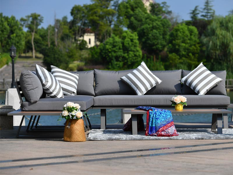 luxury outdoor sofa set