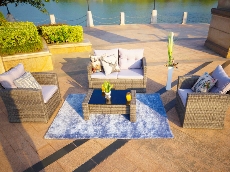 Sectional outdoor sofa sets