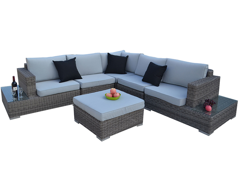 Rattan sofa set designs