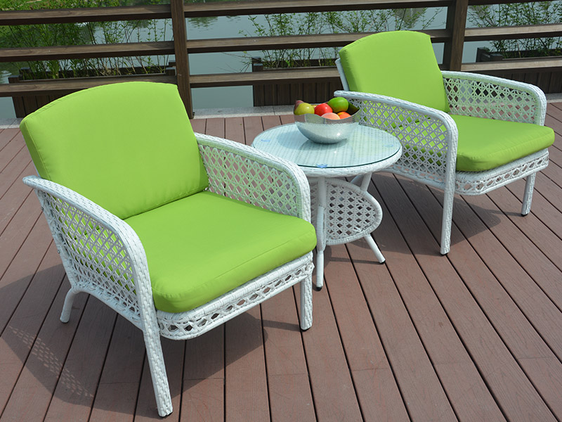 Rattan dining set table and chairs