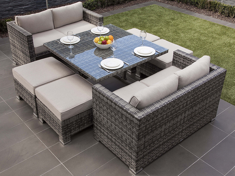 latest outdoor rattan dining sets