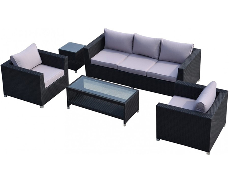 Outdoor furniture rattan sofa set